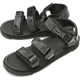 【55%OFF/スーパーSALE限定価格】シャカ SHAKA サンダル ネオ バンジー パテント NEO BUNGY PATENT [433139 SS20] メンズ・レディース スポーツサンダル シューズ 靴 BLACK ブラック系【sp】【e】