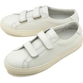 【9/24まで!楽天カードで最大21倍】ヨーク YOAK 国産スニーカー ルーク LUKE [ SS20] メンズ 日本製 ベルクロ レザーシューズ 靴 WHITE ホワイト系