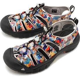 【8/10限定!楽天カードで15倍】【限定】KEEN キーン サンダル ニューポート エイチツー M NEWPORT H2 [1022255 SS20] メンズ アウトドア ウォーターシューズ 靴 Face ベージュ系
