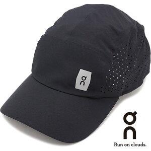 オン On ライトウェイトキャップ Lightweight Cap [301.00015 SS21] メンズ・レディース ランニングキャップ 帽子 フリーサイズ ブラック ブラック系