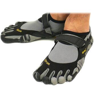 Vibram 五趾鞋 Vibram 五手指男装 KSO 黑色/灰色/迷彩 Vibram 五手指五手指鞋赤脚 (M1485)