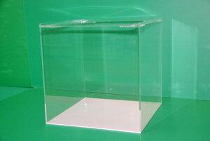 45×45×45 アクリル水槽 白底(5t)