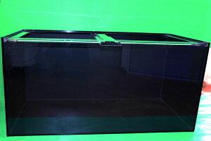 120×600×600 4面ブラックアクリル水槽(10t×8t)
