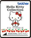 ブラザーミシン刺しゅうカード「Hello Kitty Collection」 ECD098  ブラザー ミシン 刺繍カード【ネコポス発送可】0113_flash...
