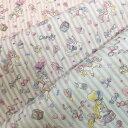 【シーチング生地】balloon Unicorn【3色】【カラフル ポップ スイーツ キャンディー ユニコーン パステルカラー ゆめかわいい 入園入…