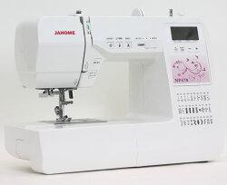 【新商品】ジャノメコンピュータミシン「NP470」【送料無料】【5年保証】【楽ギフ_のし宛書】【みしん】【ミシン本体】