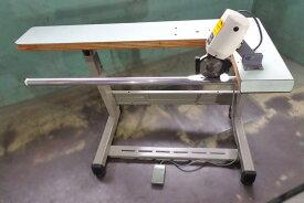 【中古】 KM 裁断機モデルNo−RS-100型テーブル・脚・フットペダル組