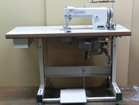 【中古】BROTHER ブラザー 1本針本縫いミシン DB2-B736-1型 100v クラッチモーターセット