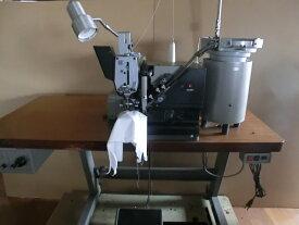 【中古】 JUKIボタン付けミシン ボタン自動挿入装置つき。MB-373型
