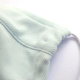 UVカットマスクフラット(穴なし)安心の日本製日焼け防止uvマスク夏用メッシュ涼しい紫外線対策グッズ散歩ランニングスポーツアウトドアガーデニング洗えるマスク大きめ日よけ
