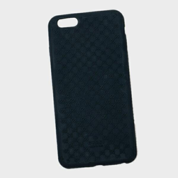 グッチ GUCCI マイクログッチシマ iPhone6S plus用 スマホ ケース カバー ダークネイビー 399030 JBJ00 D.NV