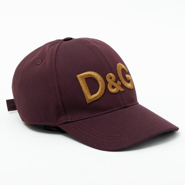 ドルチェ&ガッバーナ ドルガバ DOLCE&GABBANA キャップ ベースボールキャップ 帽子 ワインレッド GH590Z GE887 M5039