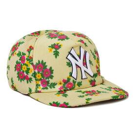 グッチ GUCCI NYヤンキース コラボ ベースボール キャップ 帽子 [レディース] 538562 3HE37 9067【I25】