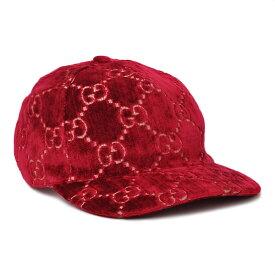【お値段見直しました!】グッチ GUCCI GGベルベット ベースボール キャップ 帽子 ダークレッド [レディース] 527075 3HD87 6460