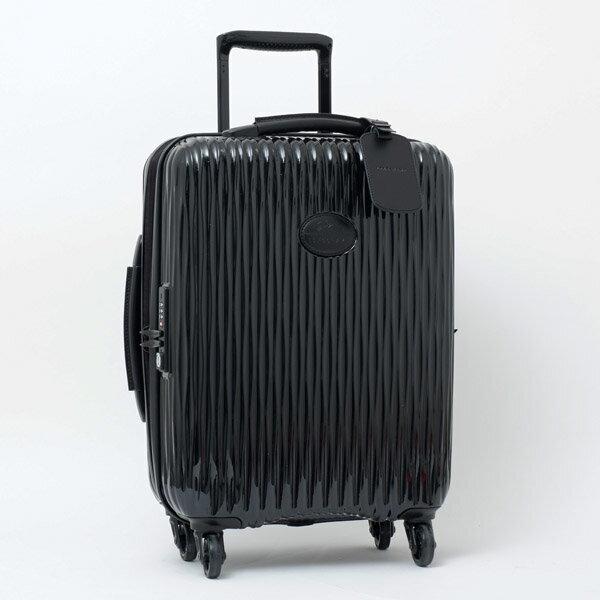 LONGCHAMP ロンシャン VALIGIA キャリーオン 4輪 スーツケース ブラック 1404 989 001【送料無料】