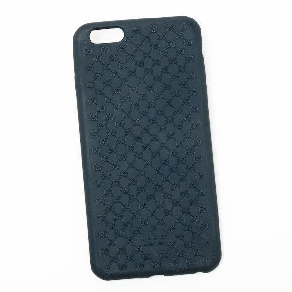 グッチ GUCCI マイクログッチシマ iPhone6 plus/6S plus用 スマホ ケース カバー ネイビー 399030 JBJ00 3020