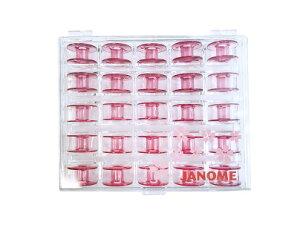 ジャノメミシン(JANOME)家庭用純正さくらボビン(25個入り)専用ボビンケース【代引き決算不可】