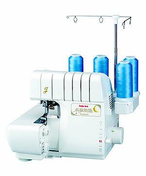 (株)ジューキ べビ-ロック糸取物語 4本糸ロックミシン BL65EXS型
