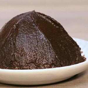 《京桜みそ 500g》甘口 上品 濃厚 減塩 塩分控えめ 豆みそ八丁米みそブレンド 赤味噌黒味噌