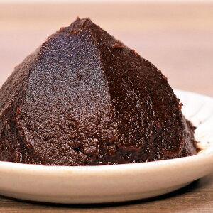 《江戸甘みそ黒こし 300g》甘口 濃厚 減塩 塩分控えめ 料理お菓子作りに そばみそ 黒味噌黒みそ