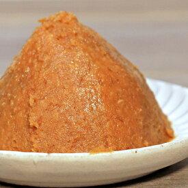 《長崎麦みそ 麦の波 1kg》甘口 粒 淡色 塩分控えめ 減塩 無添加 国産原料 裸大麦 やさしい 九州