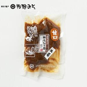 《神代みそ漬 生姜 甘口 150g》5回漬け替え 最高級 こだわりの味噌使用 お茶漬けご飯のお供に 酒の肴 一汁一菜