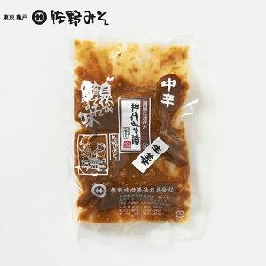 《神代みそ漬 生姜 中辛 150g》最高級品 5回漬け替えこだわりの味噌使用 お茶漬けご飯のお供に 酒の肴 一汁一菜