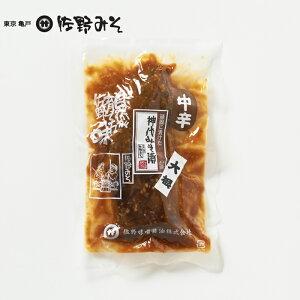 《神代みそ漬 大根 中辛 160g》こだわりの味噌使用 お茶漬けご飯のお供に 一汁一菜 最高級品 5回漬け替え