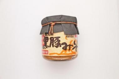 《鹿児島 黒豚みそ200g》ご飯のお供 酒の肴 麦みそ使用