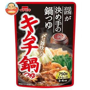 送料無料 イチビキ ストレート キムチ鍋つゆ 750g×10袋入 ※北海道・沖縄は別途送料が必要。