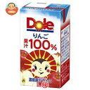 Dole(ドール) りんご 100% 125ml紙パック×15本入