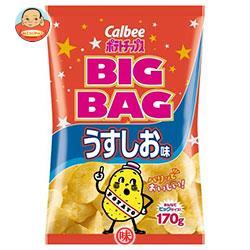 カルビー BIG BAG ポテトチップス うすしお味 170g×12個入