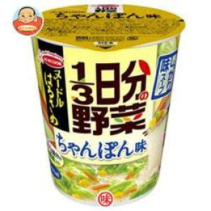 エースコック ヌードルはるさめ 1/3日分の野菜 ちゃんぽん味 43g×12(6×2)個入
