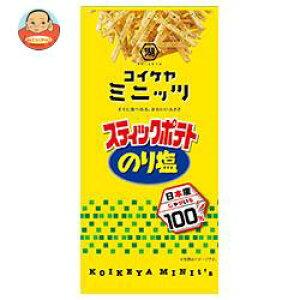 コイケヤ コイケヤミニッツ スティックポテト のり塩 40g×12(6×2)袋入