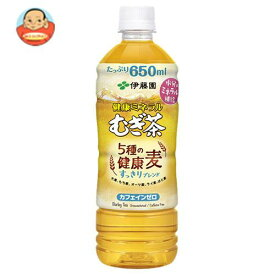 伊藤園 健康ミネラルむぎ茶 5種の健康麦 すっきりブレンド 650mlペットボトル×24本入