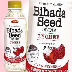 アシストバルール Bihada Seed Drink (ビハダシードドリンク) ライチ 200mlペットボトル×24本入