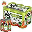 キャンベルV8野菜ジュース減塩タイプ(6缶パック)163ml缶×24本入
