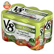 キャンベルV8野菜ジュース低塩(6缶パック)163ml缶×24(6×4)本入