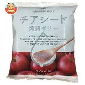 送料無料 【2ケースセット】チアシード蒟蒻ゼリー りんご味 10個×12袋入×(2ケース) ※北海道・沖縄は別途送料が必要。