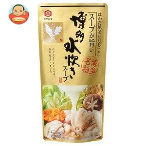 宮島醤油 博多水炊きスープ 600g×10袋入