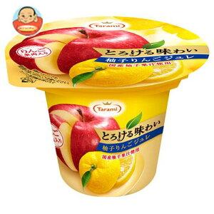 【送料無料】【2ケースセット】たらみ とろける味わい 柚子りんごジュレ 210g×18(6×3)個入×(2ケース) ※北海道・沖縄は別途送料が必要。