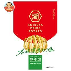 コイケヤ KOIKEYA PRIDE POTATO(コイケヤプライドポテト) 本格濃厚のり塩 63g×12袋入