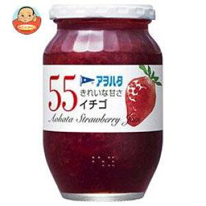 【送料無料】【2ケースセット】アヲハタ 55 イチゴ 400g瓶×6個入×(2ケース) ※北海道・沖縄は別途送料が必要。
