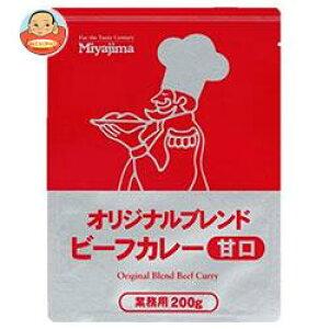 宮島醤油 オリジナルブレンドビーフカレー甘口 200g×40袋入