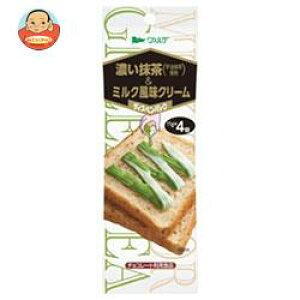 送料無料 【2ケースセット】アヲハタ ヴェルデ 濃い抹茶&ミルク風味クリーム 11g×4×12袋入×(2ケース) ※北海道・沖縄は別途送料が必要。