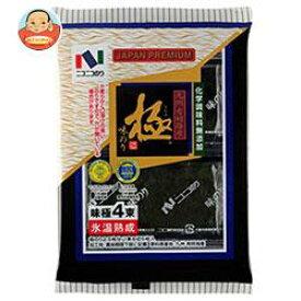 ニコニコのり 味極4束 4袋詰(8切5枚)×10袋入