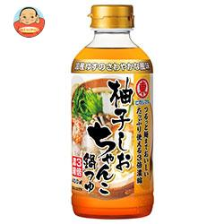 ヒガシマル醤油 柚子しおちゃんこ鍋つゆ 3倍濃縮 400mlペットボトル×12本入