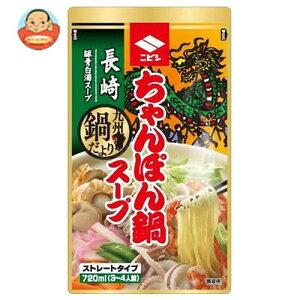 ニビシ醤油 長崎ちゃんぽん鍋スープ 720mlパウチ×10袋入