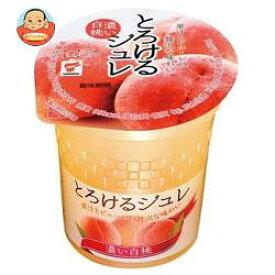 【送料無料】【2ケースセット】たいまつ食品 とろけるジュレ 濃い白桃 160g×12個入×(2ケース) ※北海道・沖縄は別途送料が必要。