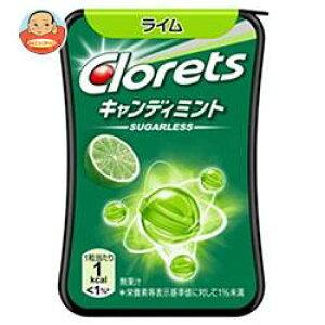 モンデリーズ・ジャパン クロレッツ キャンディミント ライム 14.4g(25粒)×12個入
